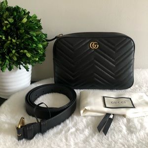 GUCCI Marmont belt / waist bag
